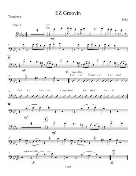 EZ Groovin - Trombone