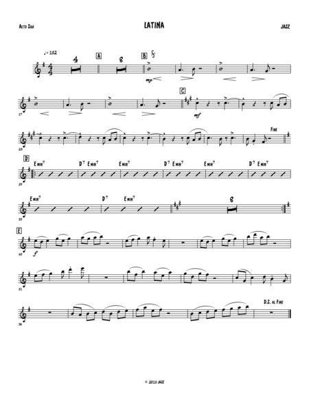 Latina - alto sax
