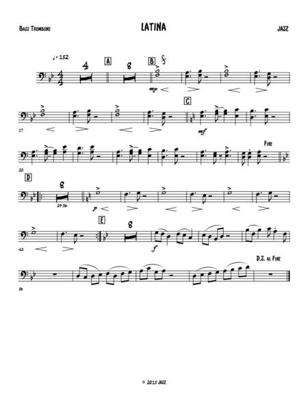 Latina - bass trombone