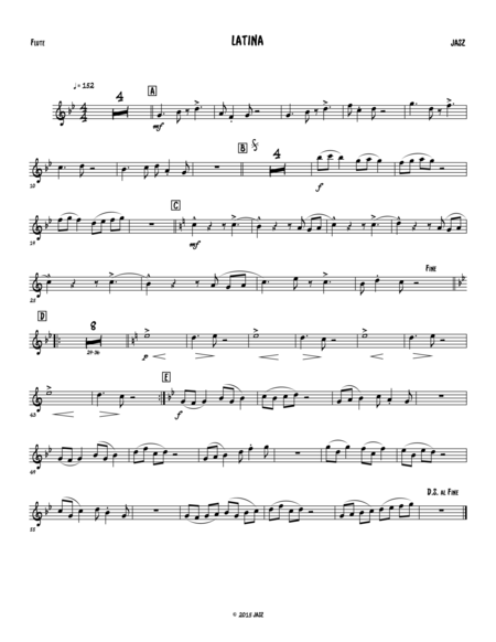 Latina - Flute