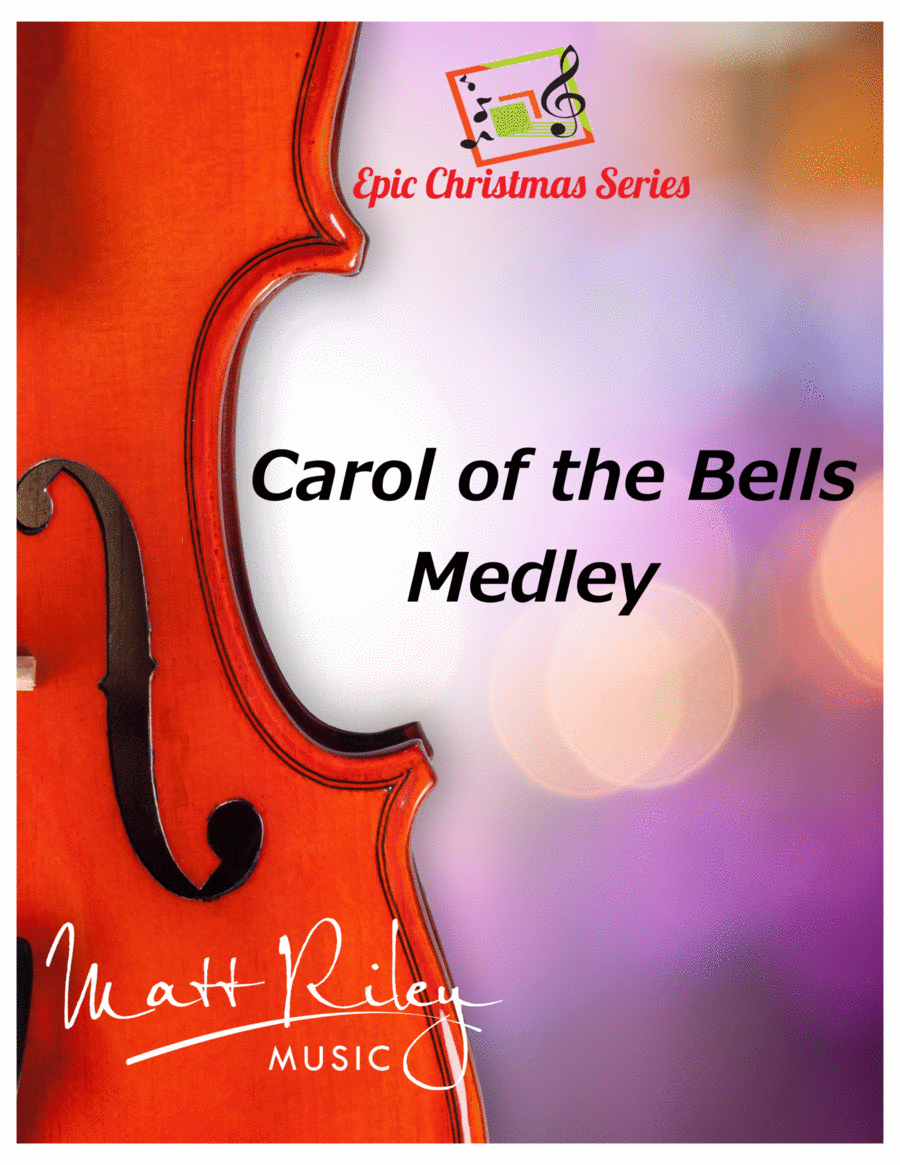 Carol of the Bells / God Rest Ye Merry Gentlemen - Viola and Piano Duet
