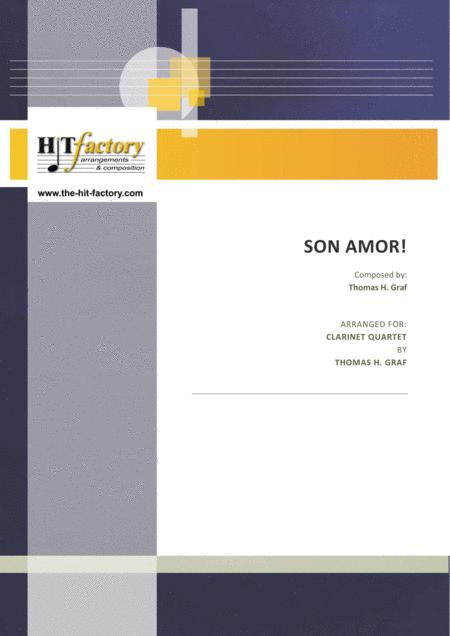 Son amor! - Samba - Clarinet Quartet