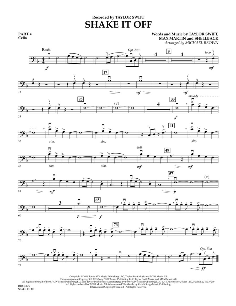 Shake It Off - Pt.4 - Cello