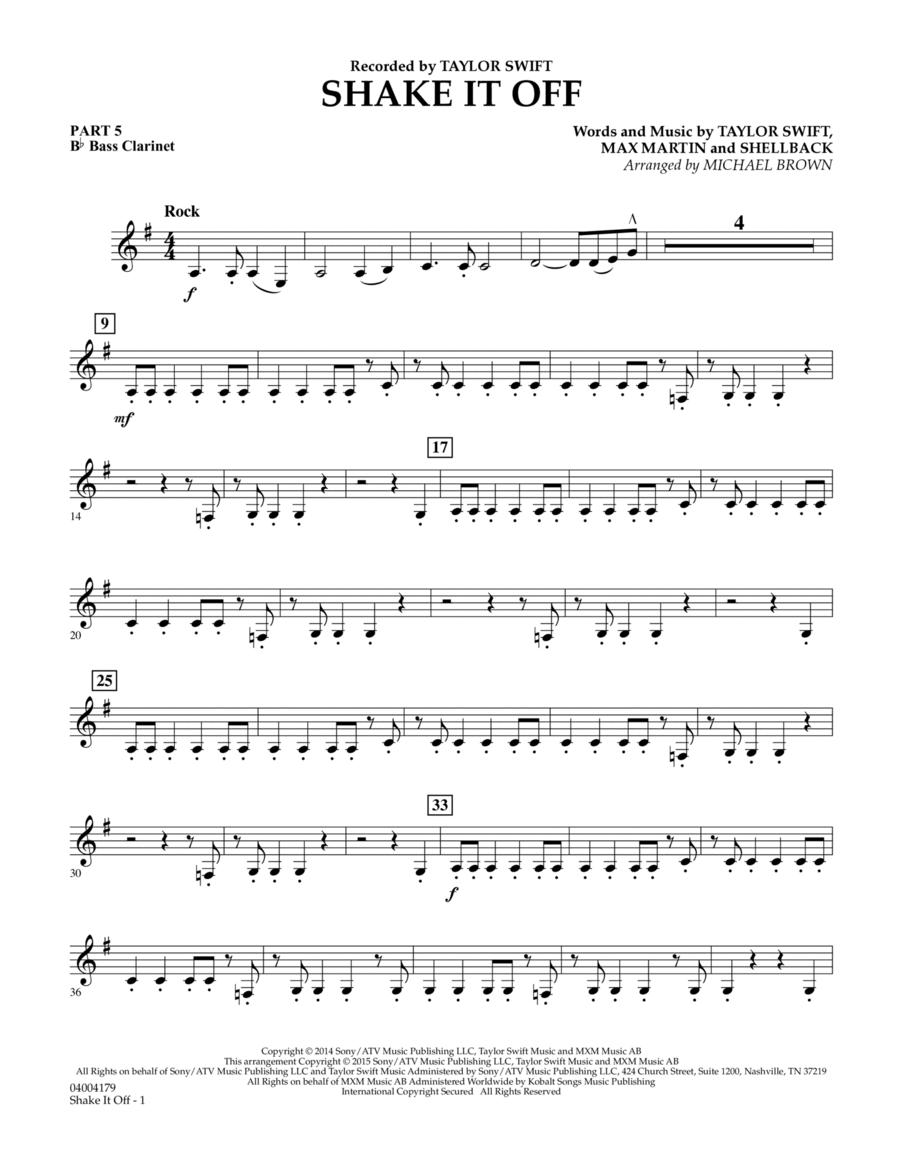 Shake It Off - Pt.5 - Bb Bass Clarinet