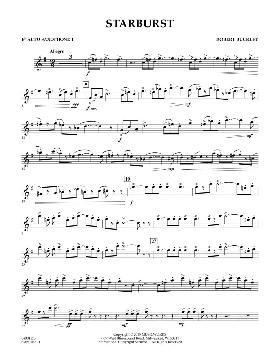 Starburst - Eb Alto Saxophone 1