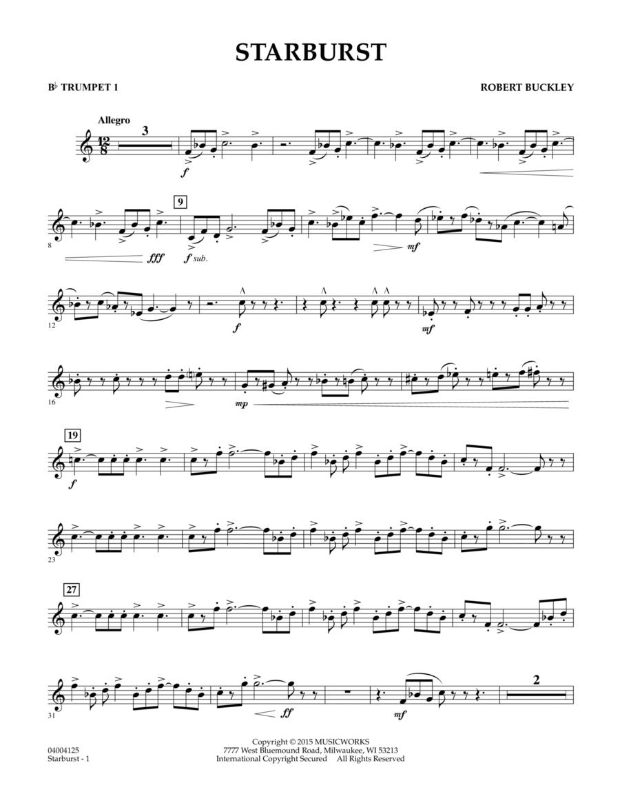 Starburst - Bb Trumpet 1