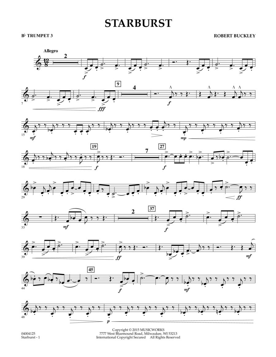 Starburst - Bb Trumpet 3