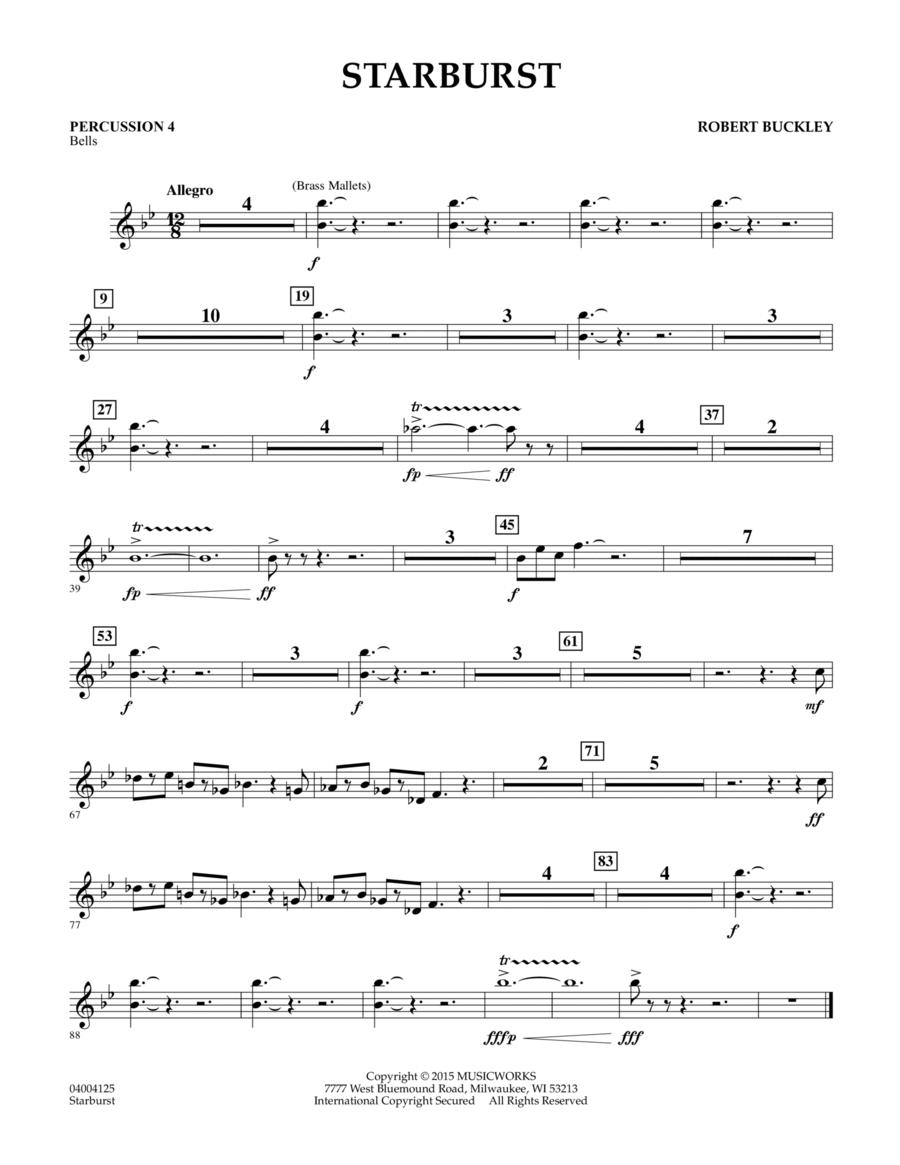 Starburst - Percussion 4
