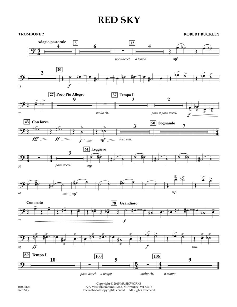 Red Sky (Digital Only) - Trombone 2