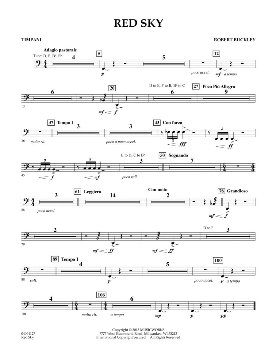 Red Sky (Digital Only) - Timpani