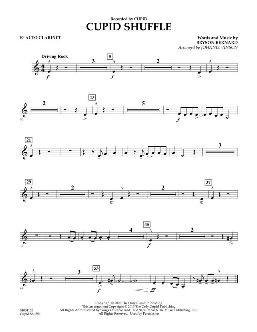 Cupid Shuffle - Eb Alto Clarinet
