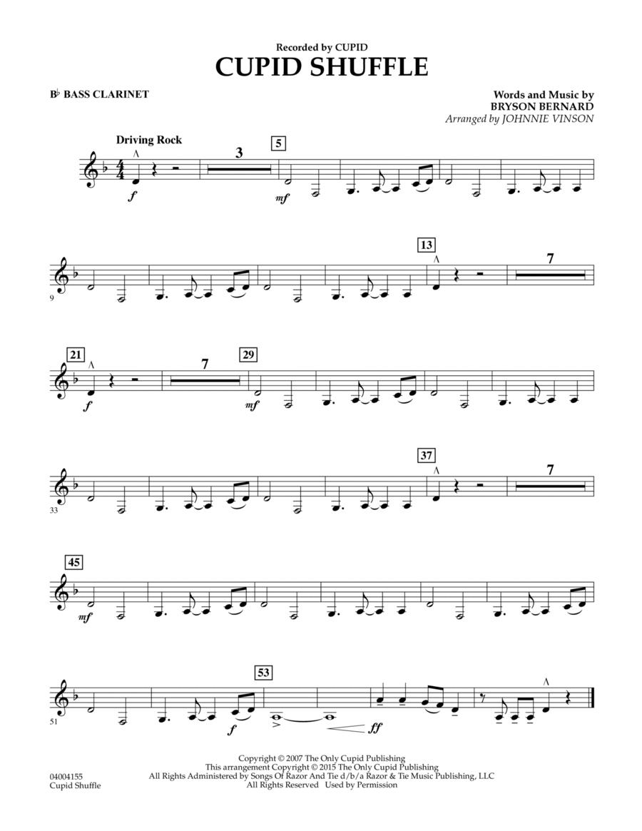 Cupid Shuffle - Bb Bass Clarinet