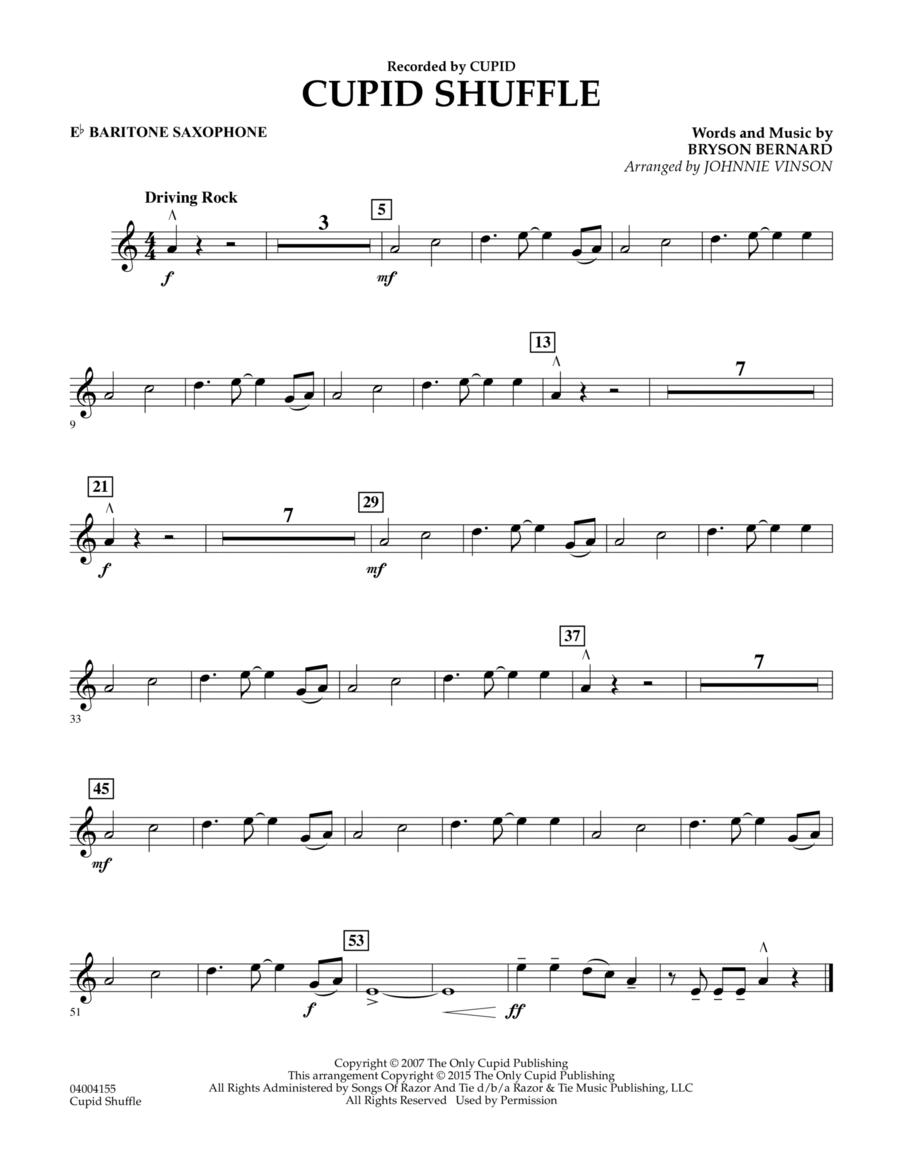 Cupid Shuffle - Eb Baritone Saxophone