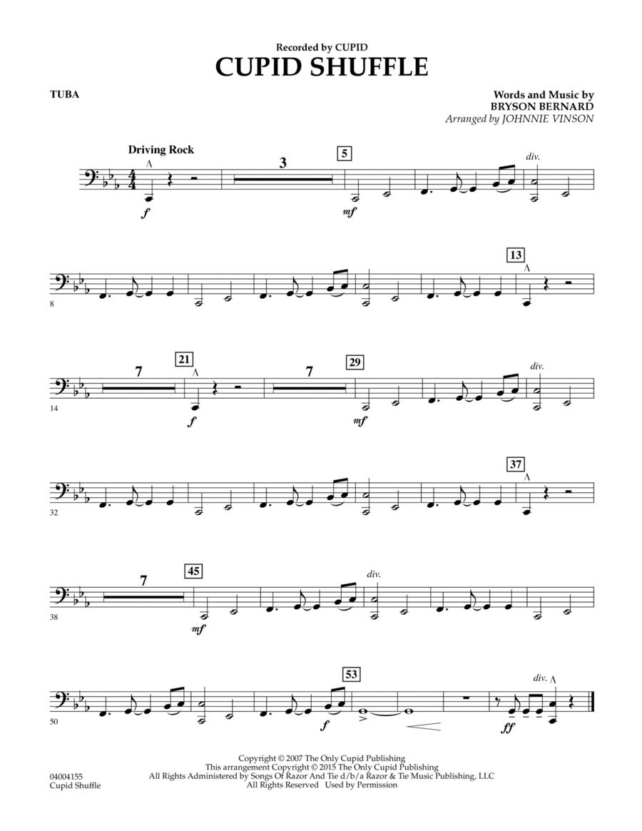 Cupid Shuffle - Tuba