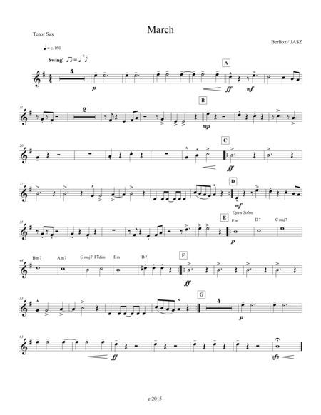 Berlioz March to the Scaffold -tenor