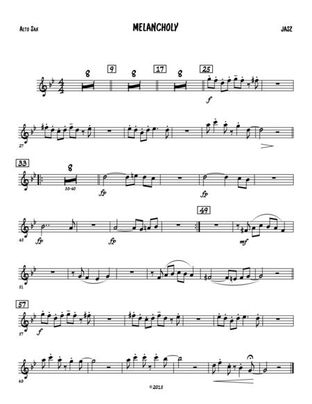 Melancholy - alto sax