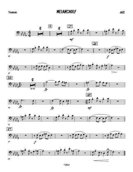 Melancholy- Trombone