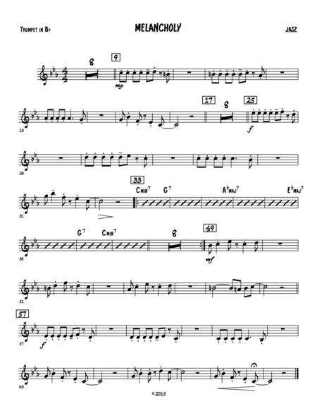 Melancholy - Trumpet