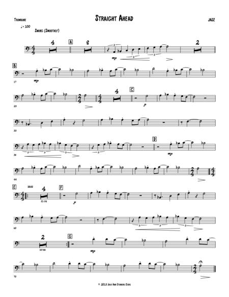 Straight Ahead - trombone