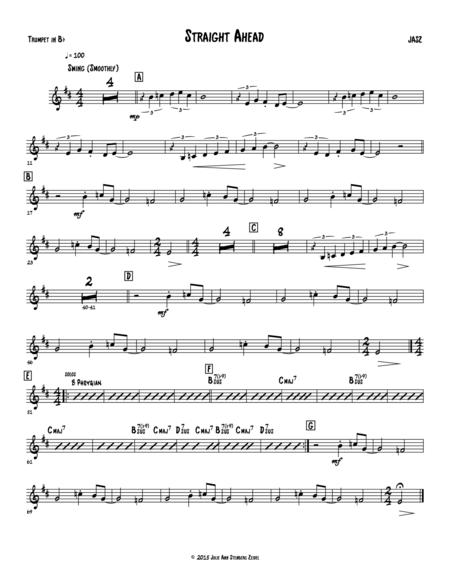 Straight Ahead - trumpet
