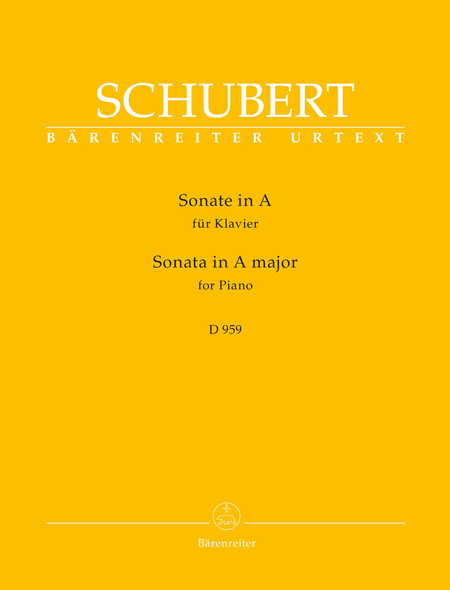 Sonata for Piano A major D 959