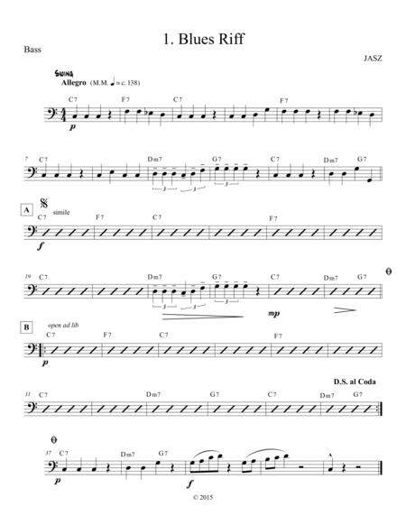 Blues Riff - Bass