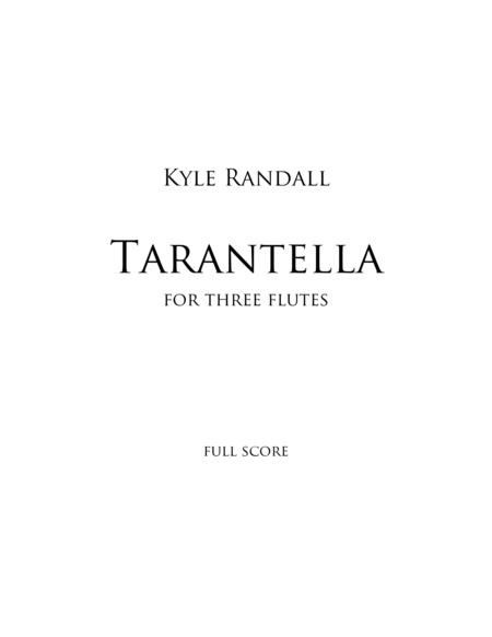 Tarantella for three flutes