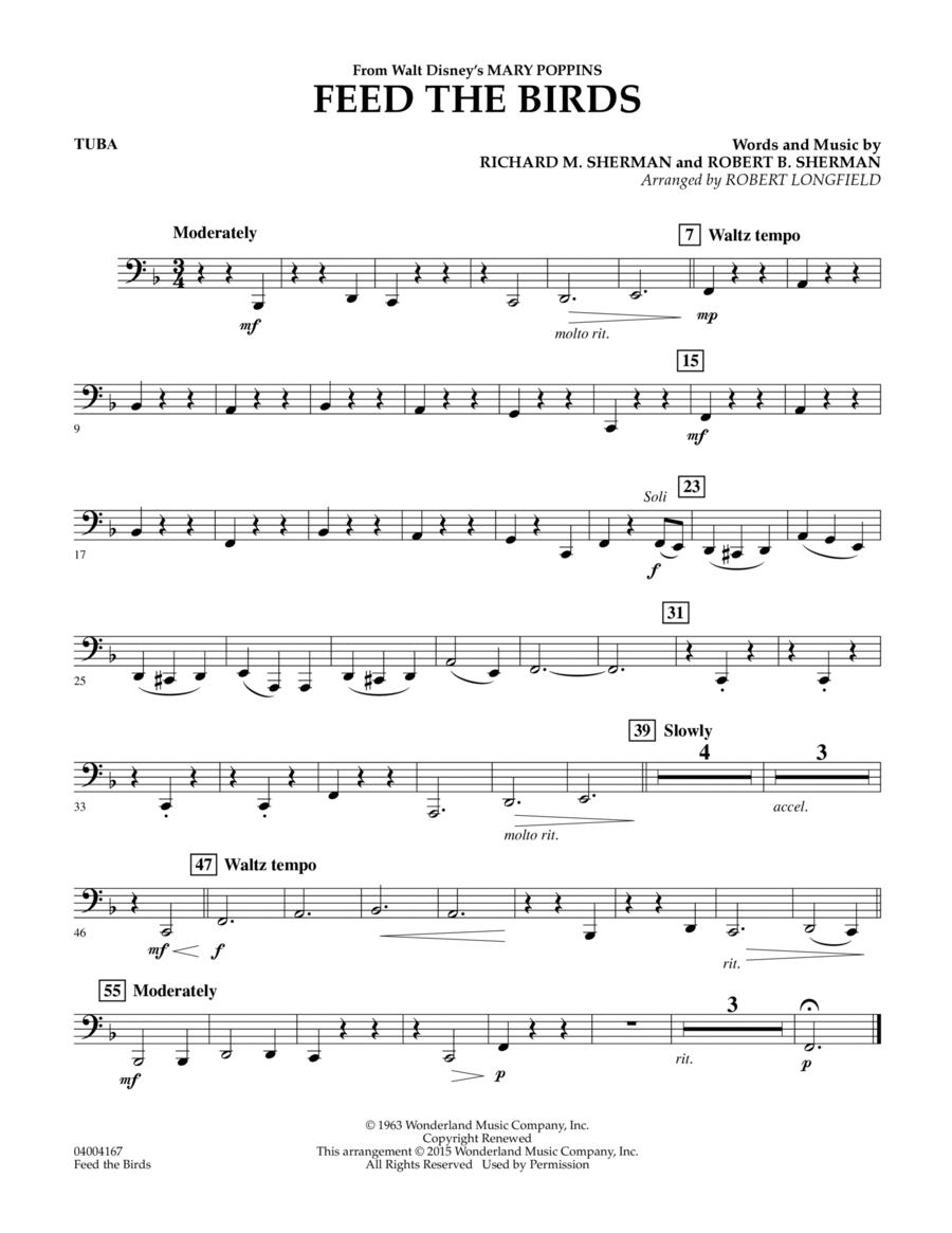 Feed the Birds (from Mary Poppins) - Tuba