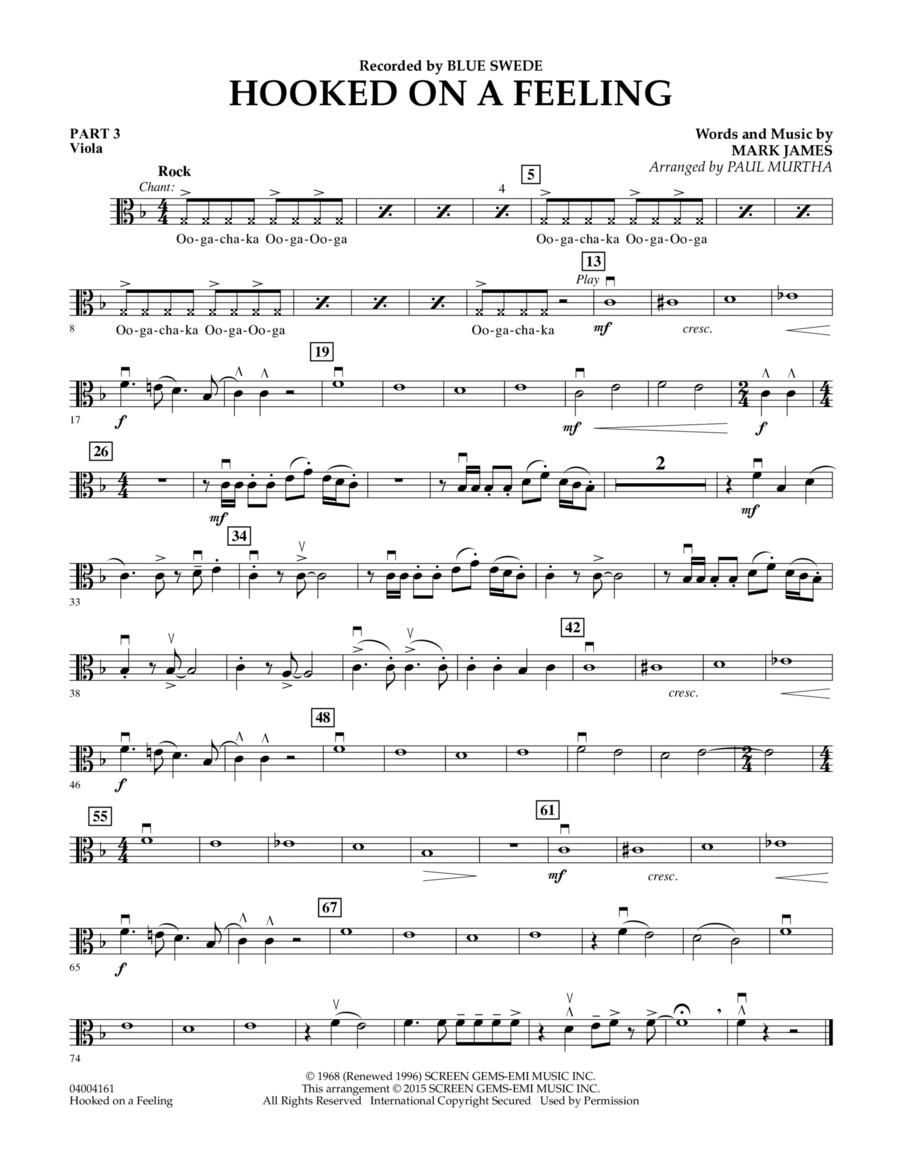 Hooked On A Feeling - Pt.3 - Viola