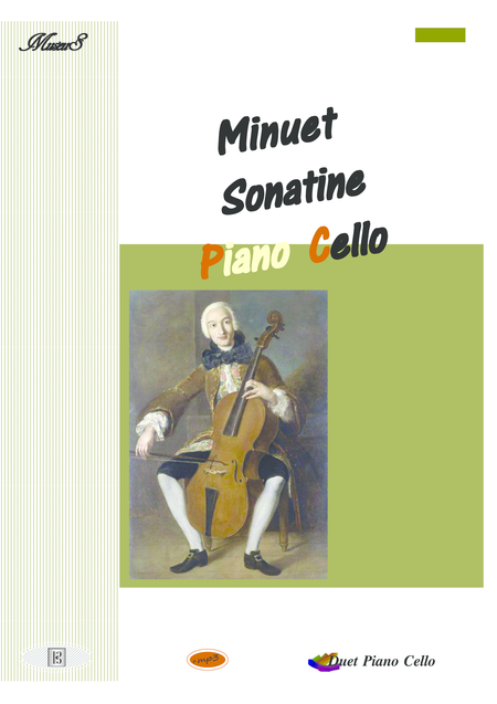A minuet sonatine for Cello and Piano duet pdf mp3