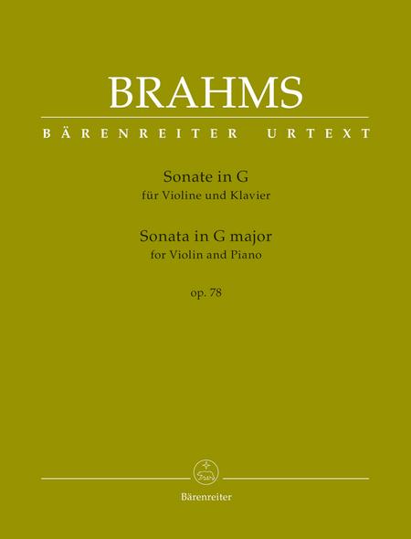 Sonata for Violin and Piano G major op. 78