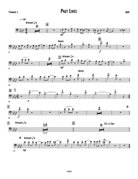 Past Lives - Trombone