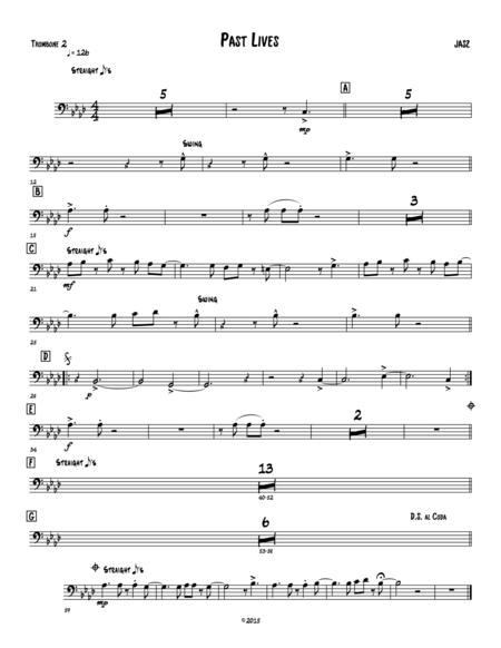 Past Lives - Trombone - 2