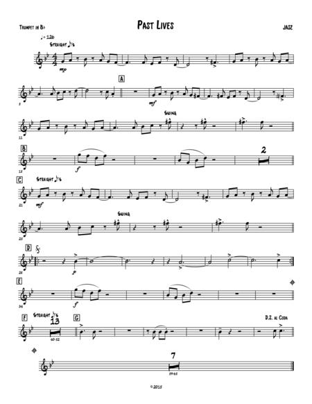 Past Lives - Trumpet