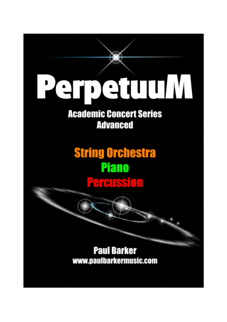 Perpetuum (String Orchestra Score and Parts)