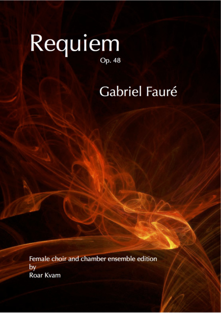 Requiem Op. 48, Vocal Organ Score