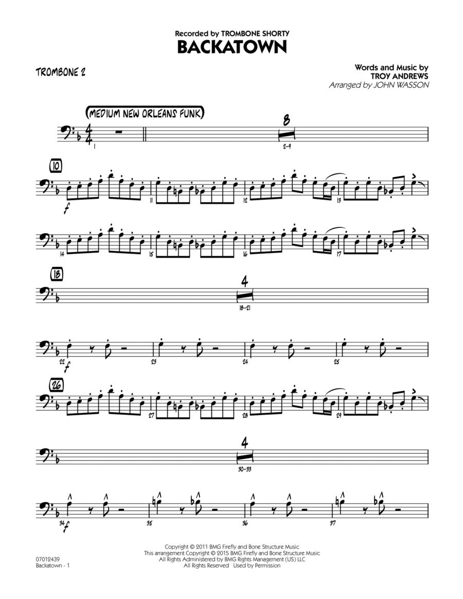 Backatown - Trombone 2