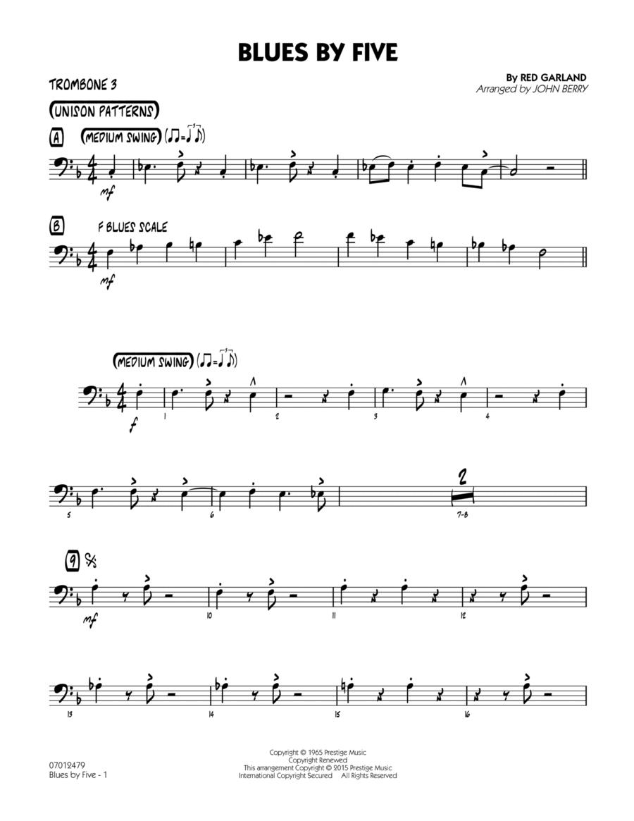 Blues by Five - Trombone 3