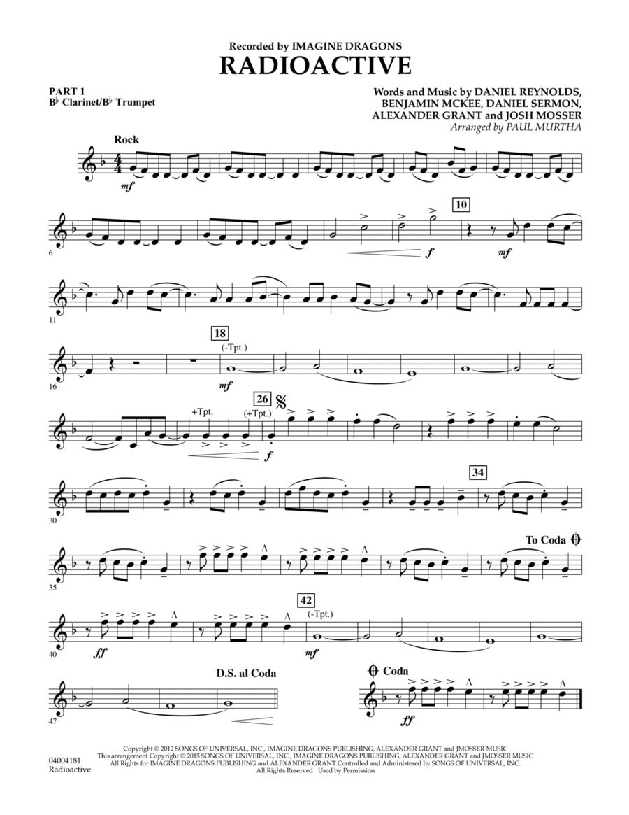 Radioactive - Pt.1 - Bb Clarinet/Bb Trumpet