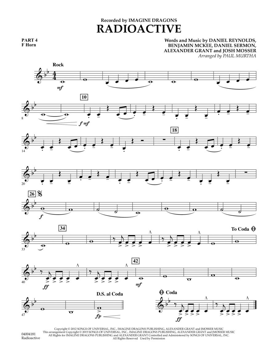 Radioactive - Pt.4 - F Horn