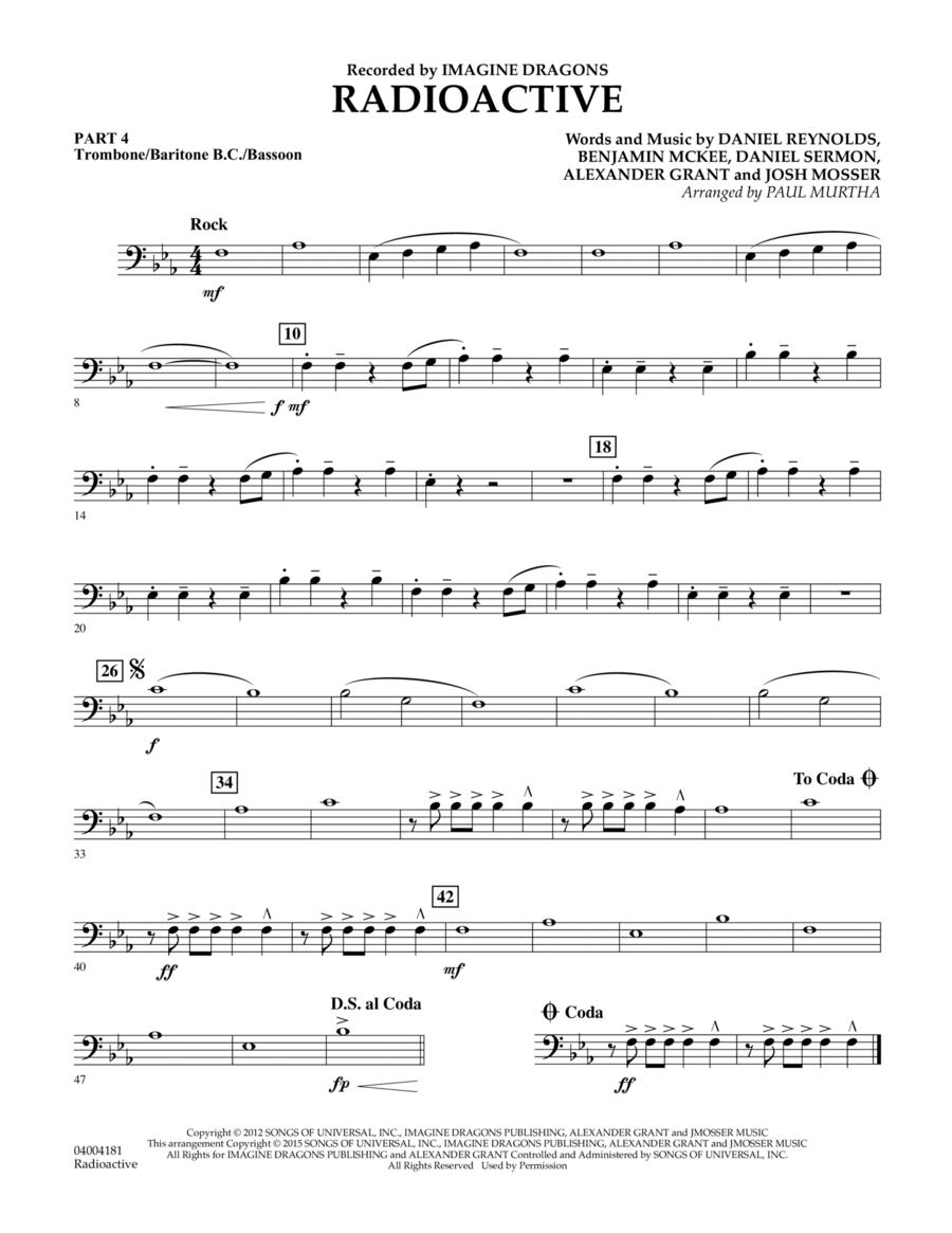 Radioactive - Pt.4 - Trombone/Bar. B.C./Bsn.