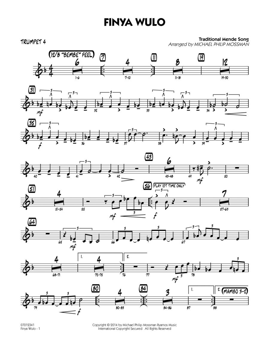 Finya Wulo - Trumpet 4