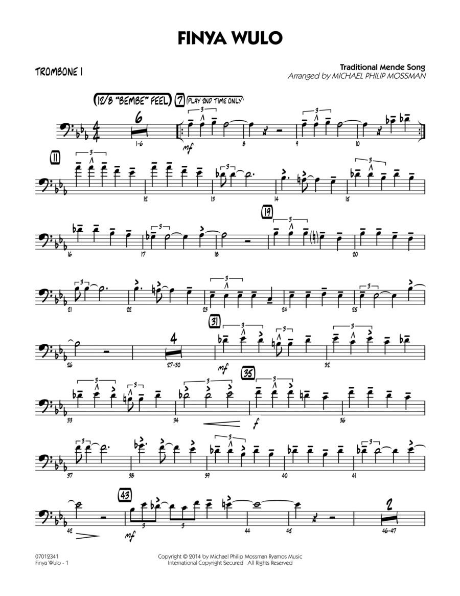 Finya Wulo - Trombone 1