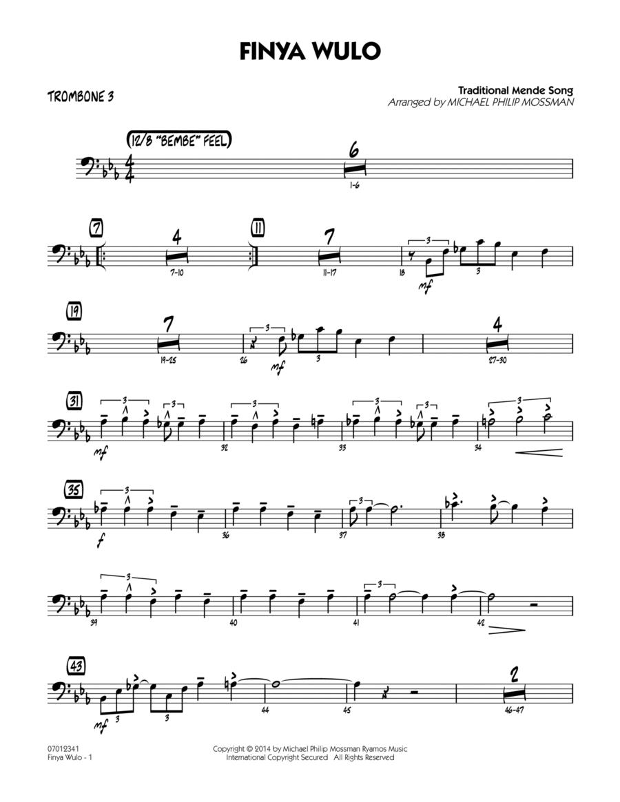 Finya Wulo - Trombone 3
