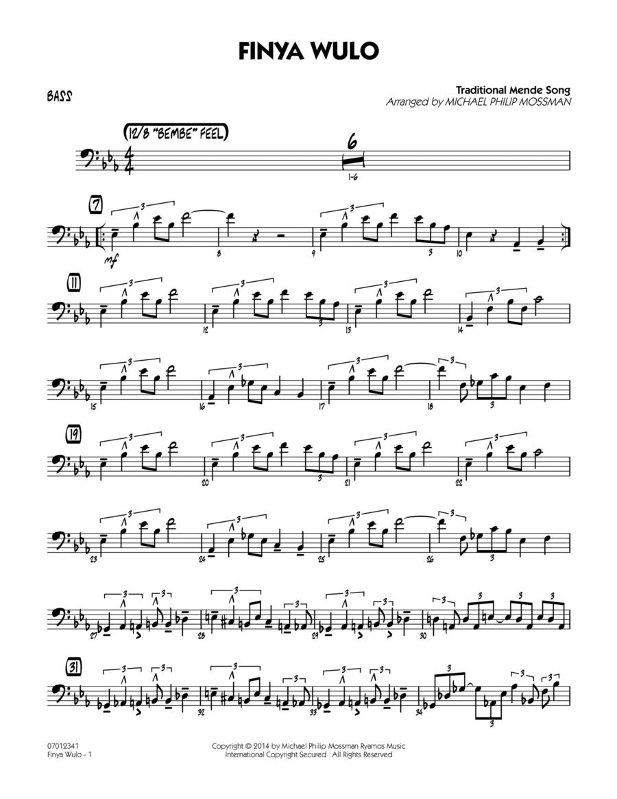 Finya Wulo - Bass