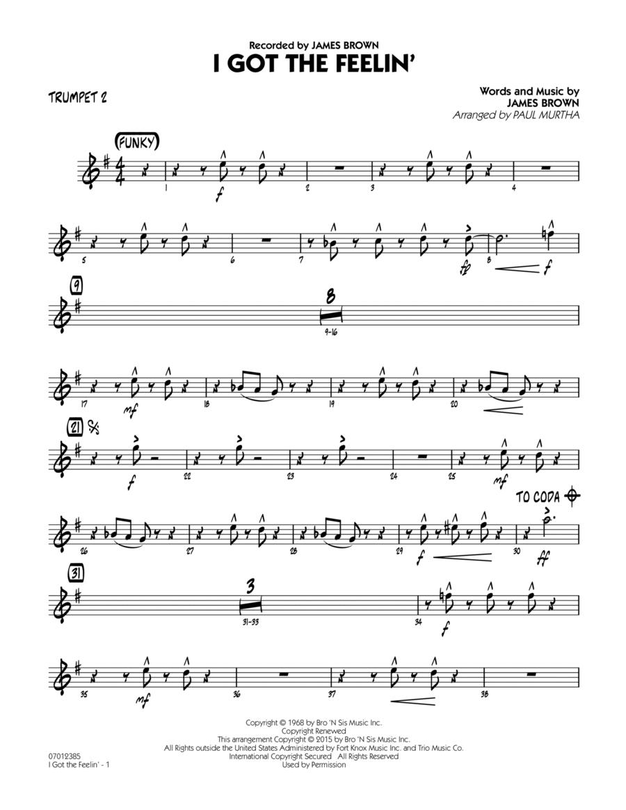 I Got The Feelin' - Trumpet 2