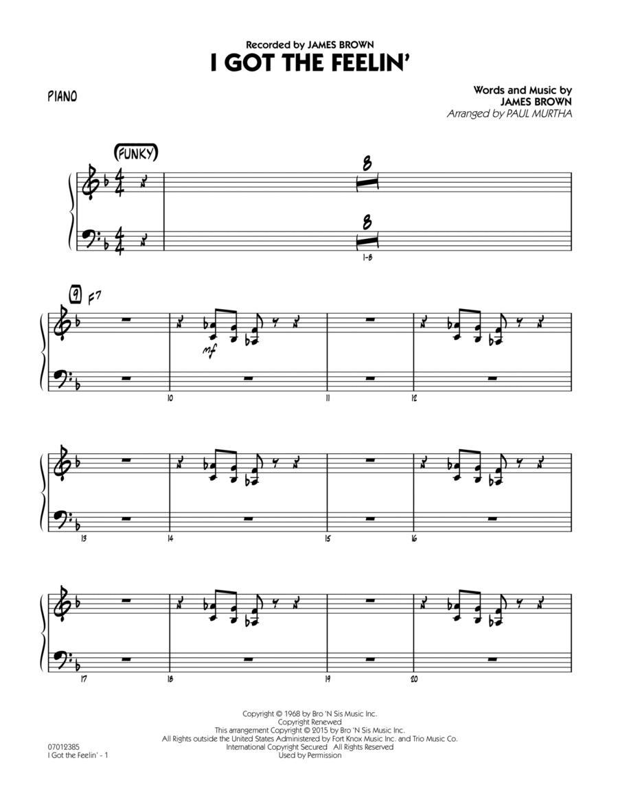 I Got The Feelin' - Piano