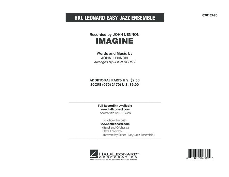 Imagine - Conductor Score (Full Score)