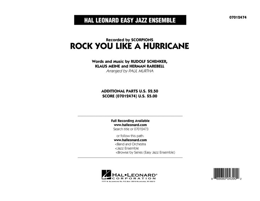 Rock You Like a Hurricane - Conductor Score (Full Score)