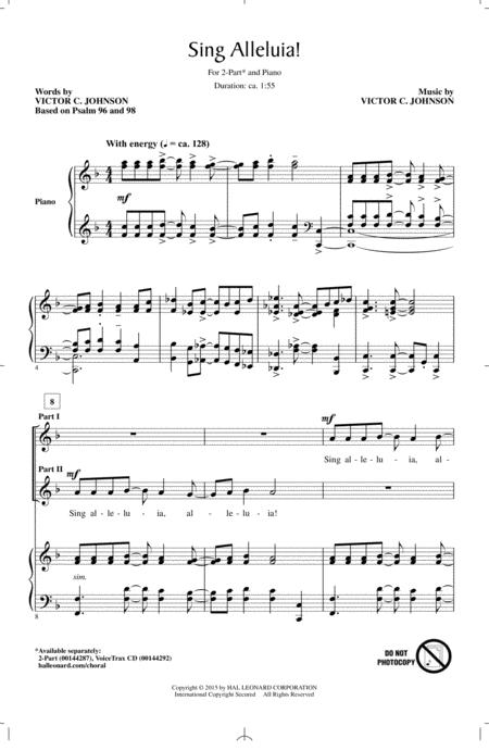Sing Alleluia!